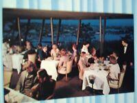 VINTAGE POST CARD CANLIS' RESTAURANT AURORA NORTH   SEATTLE WASHINGTON