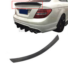 Carbon Fiber Rear Trunk Spoiler Wing Lip Fit for Mercedes Benz W204 Coupe 12-15
