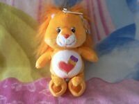 """NWT 10"""" BRAVE HEART LION CARE BEAR COUSIN BABY BOY GIRL GIFT COLLECTIBLE TOY"""