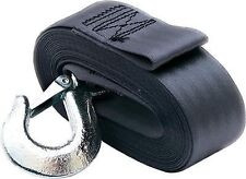 """New SeaChoice SCP 51241 Deluxe Boat Trailer  Winch Strap 2"""" x20' with Snap Hook"""