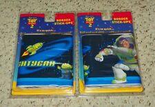 "Disney Pixar - Toy Story 2 Buzz Lightyear - Stick-ups / Wall Border 5""x15' (X2)"