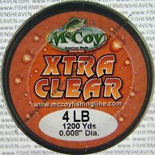 McCoy Fishing Line CoPolymer Bulk Spool Xtra Clear 4Lb Test