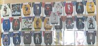 (28) 2020-21 NBA Hoops Lot Of Assortment Of Rookies Rookie Cards