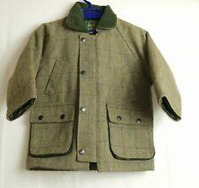 Joules RAGAZZE Giacca in Tweed fieldcoat-Età 10-CHECK Verde 6-7 8-9