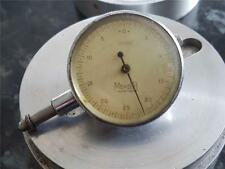 "Vintage Dial Gauge Precision Measuring Outil by ""Mercer"" St Alban Aluminium Case"