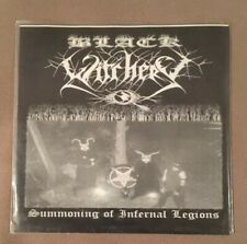 "Black Witchery Summoning Of Infernal Legions 7"" EP Black Metal RARE Vinyl LP"