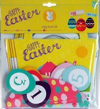 Complete 22 Piece Easter Egg Hunt Kit Game-pointers, Baskets and Egg JETON!