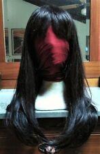 25 INCHES (63 CM) 100% LUXURIOUS REMI HUMAN HAIR WIG, NATURAL BLACK (1B) COLOUR