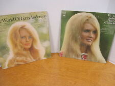 """2 Lynn Anderson Albums, """"How Can I Unlove You"""" & """"The World of Lynn Anderson"""""""