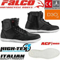FALCO Motorradsneaker SHIRO 2 Schuhe mit CE wasserdicht und D3O Protektoren