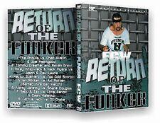 ECW Wrestling: Return of the Funker DVD, Terry Funk Cactus Jack Sabu Taz WWE WCW