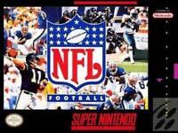 NFL Football Super Nintendo Game SNES Used