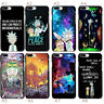 Rick and Morty Comic Funny Soft TPU Case Cover For iphone 6S 7 8 Plus S9 Xs Max