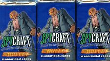 SPY CRAFT CCG 3 BOOSTERS BULLET