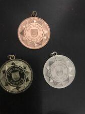Bronze  Sliver Gold Medal Ribbon Fur Treue Dienste Germany