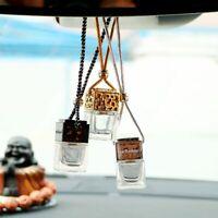 huiles essentielles désodorisant pendentif flacon de parfum vide. auto ornement
