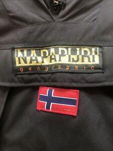Napapijri Geographic Coat Black