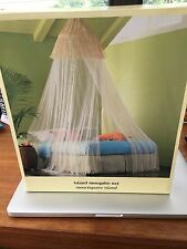 ISLAND MOSQUITO NET - Can be hung over bed or used in any room for decoration.