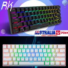 RK61 Bluetooth USB Ergonomic Keypad RGB Backlight Mechanical PC Gaming Keyboard