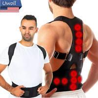 Magnetic Posture Corrector Belt For Men/Women Adjustable Support Shoulder Back