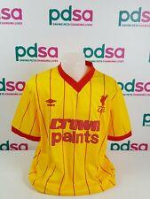 Retro LIVERPOOL FC Crown Paints 1981 - 84 Away Shirt Size 2XL BNWT - BX4_334