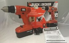 Black & Decker 18v Cordless Drill/Driver With Keyless Chuck GC1801