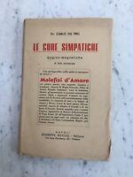 VECCHIO LIBRO1952 LE CURE SIMPATICHE Dr.DU PREL ED. ROCCO OLD BOOK