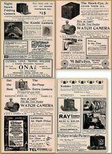 4 1894 1895 1898 Pages Mother Child Sunart Camera Print Ads Kodak Ray Bo-Peep