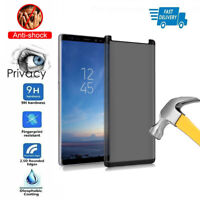 For Samsung Galaxy note 8 9 S8 Privacy Anti-Spy Tempered Glass Screen Protector