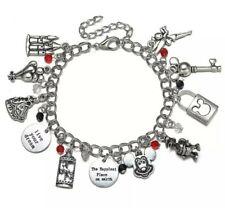 Disney themed Charm Bracelet Mickey Minnie Mouse Birthday Christmas 206