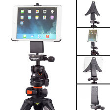 """4 Prong 1/4"""" Tripod Adapter Mount and Dedicated Holder for Apple iPad Mini 1 2 3"""