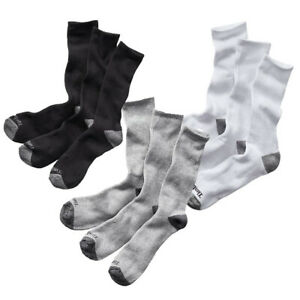 Timberland Men's Essential Solid Crew Socks (3-Pack) You Pick Color A1EBH