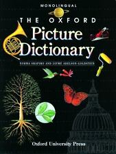The Oxford Picture Dictionary by Jayme Adelson-Goldstein Monolingual (English)Ed