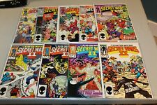 Complete Set Marvel Secret Wars II 1-9 NM Avengers Beyonder X-men Avengers Thor