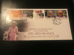 Pitcairn Islands 2013, FDC, Prominent Pitcairners, Excellent Condition