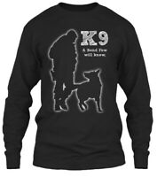 Teespring Scott Police/military Working Dog K 9 Shirt Classic Long Sleeve Tee