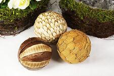 3pcs Twig Rustic Natural Balls Easter Decoration Christmas Tree Ornament