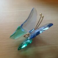 Swarovski Crystal Acadia Lavender Butterfly Paradise Mint in Box Large object
