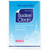 50x Oil Controls Films Wipes Sheets Absorbing Face Blotting Paper GreaseJ&C
