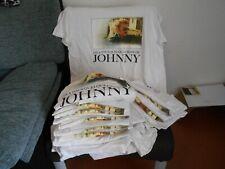 LOT   DE 24  T SHIRT  JOHNNY HALLYDAY       IDEAL  REVENDEUR