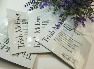 Trish McEvoy Correct and Brighten Multi-Acid Weekly Peel Presoaked Pads - NEW