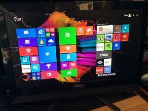 """Lenovo C40-05 AiO 21.5"""" AMD A4-6210 4GB 64bit OS Windows 8.1 500GB HDD"""