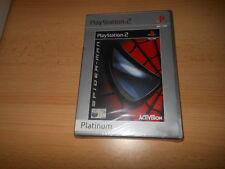 NUEVO PRECINTO DE FÁBRICA Spiderman (Platinum) PLAYSTATION 2 PS2 Sony PAL