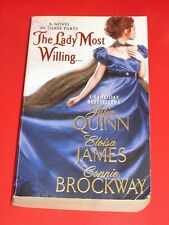 msm SALE : THE LADY MOST WILLING by JULIA QUINN / ELOISA JAMES / CONNIE BROCKWAY