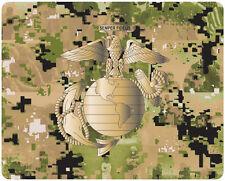 USMC US MARINE CORPS SEMPER FIDELIS NEOPRENE MOUSE PAD - MADE IN USA!