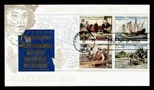 DR WHO 1992 CHRISTOPHER COLUMBUS 500TH ANNIVERSARY BLOCK FDC C212726