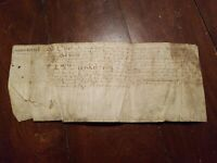 Yr 1400-1500 Ancient Antique Hand Written Document Unknown maybe Latin? Treasure