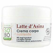 SO'BiO étic Soins Visage et Corps Mon Lait d'Anesse Crème Veloutée Nourrissan