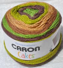 Caron Cakes Skeins of Yarn 2 Pistachio Fudge 17046 and 1 Macaron 17009