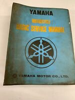 USED GENUINE YAMAHA BASIC SERVICE MANUAL